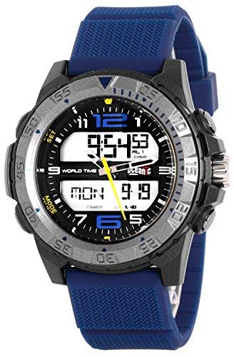 Armbanduhr OCEANIC fuer Herren mit vielen Funktionen WR100m nickelfrei OM5489D 2