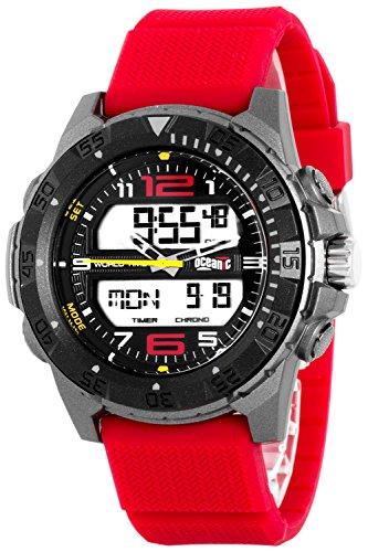Armbanduhr OCEANIC fuer Herren mit vielen Funktionen WR100m nickelfrei OM5489D 1