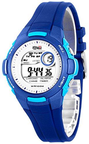 Elektronische OCEANIC Armbanduhr fuer Damen und Kinder WR100m nickelfrei ODKW8722 2