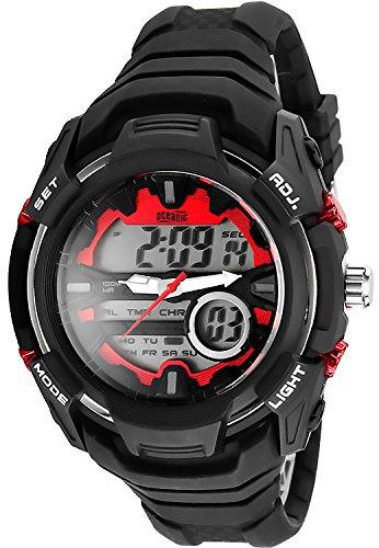 Multifunktions OCEANIC Armbanduhr fuer Herren und Teenager WR100m OM414 1