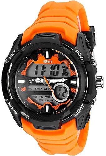 Multifunktions OCEANIC Armbanduhr fuer Herren und Teenager WR100m OM414 2