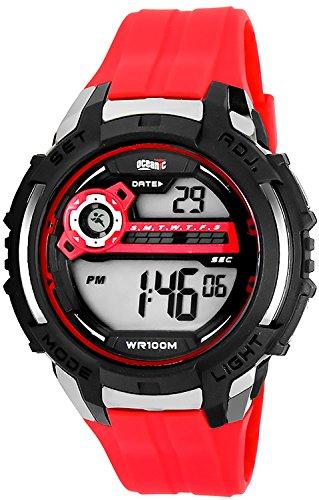 Sportliche digitale OCEANIC Armbanduhr fuer Herren WR100m O301M 1