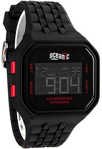 Sportlichen digitale OCEANIC Herrenarmbanduhr viele Funktionen WR100m 701 1