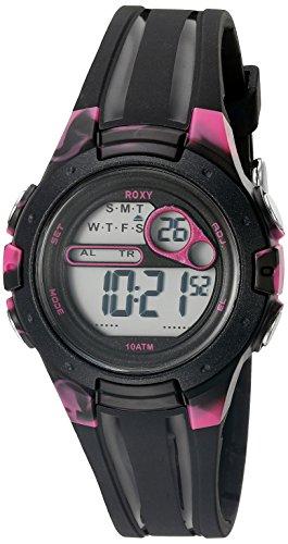 Roxy Damen Armbanduhr Digital Digital Silikon RX 1014BKPK