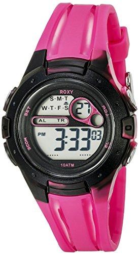 Roxy Damen Armbanduhr Digital Digital Silikon RX 1014PKBK