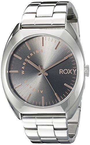 Roxy Damen Armbanduhr The Wanderer Analog Edelstahl Grau RX 1006GYSV