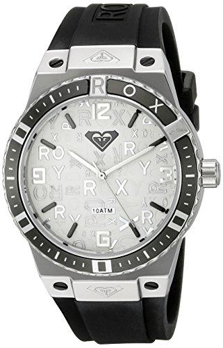 Roxy Damen Armbanduhr The Bliss Analog Silikon Schwarz RX 1005SVBK