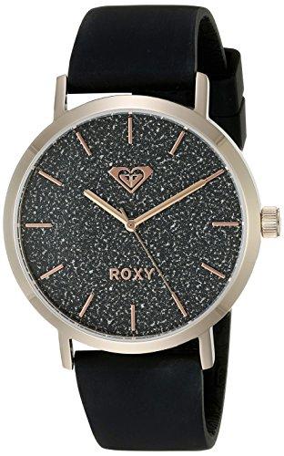Roxy Damen Armbanduhr The Royal Analog Silikon Weiss RX 1008BKRG