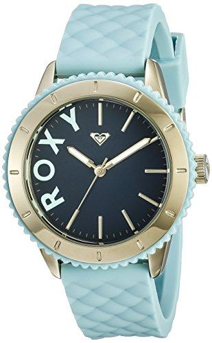 Roxy Damen Armbanduhr The Del Mar Analog Silikon Blau RX 1013DBGP