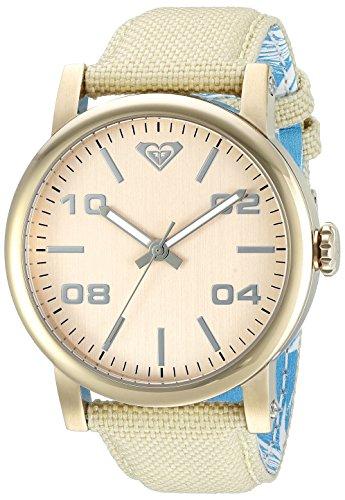 Roxy Damen Armbanduhr The Victoria Analog Nylon Beige RX 1000RGRG