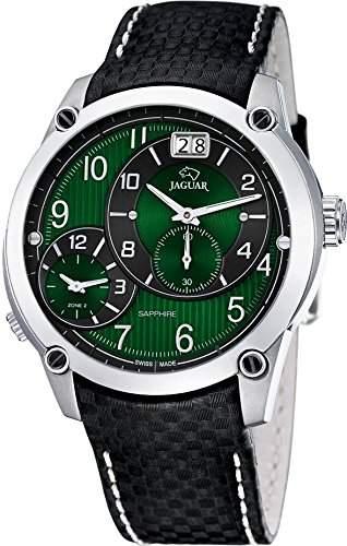 Jaguar Dual Time Herren-Armbanduhr J630F