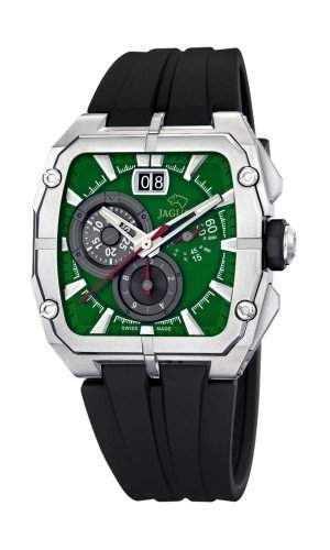 Jaguar J640A Herrenuhr Chronograph Kautschukband Stoppuhr Analog Datum