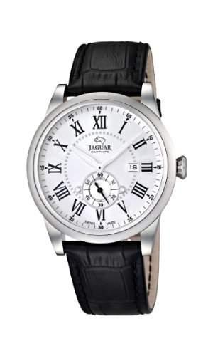 Jaguar Watches Herren-Armbanduhr XL Analog Quarz Leder J6622