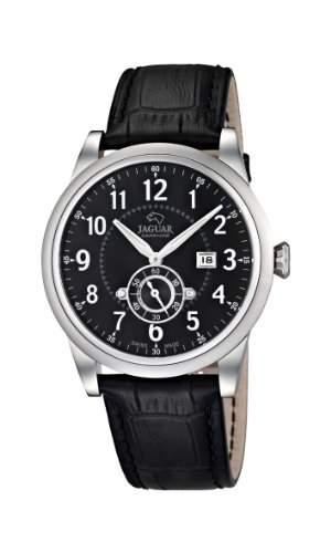Jaguar Watches Herren-Armbanduhr XL Analog Quarz Leder J6624
