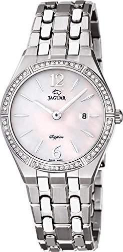 Jaguar Damen Armbanduhr Analog Datum Edelstahl Edelstahlband J6731