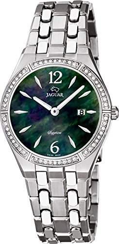 Jaguar Damen Armbanduhr Analog Datum Edelstahl J6733