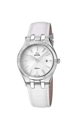 Jaguar Damen Armbanduhr Analog Datum Lederband J6741