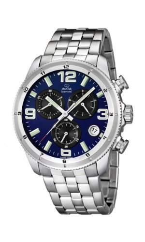 Jaguar Herren Armbanduhr Chronograph Analog Datum Edelstahl J6772