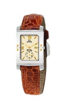 Jaguar J284 CH Uhr von Frau braun Armband und Zifferblatt Champagne