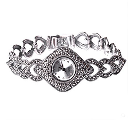 Thail Sterling Silber Markasit Antik Damen Schmuck