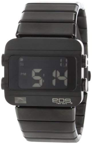 EOS New York - Sprinx Digital Black - Stahl Schwarz Digital Unisex Uhren