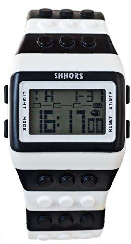 LEDO FOUR Armbanduhr BLACK WHITE E6 20