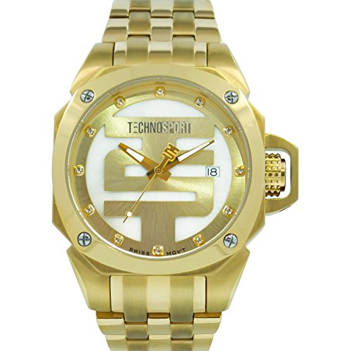 TechnoSport Damen Chrono Uhr GOLDEN TOUCH gold