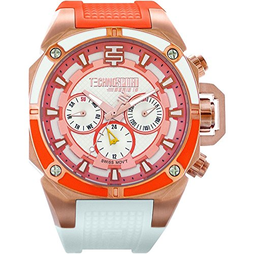 TechnoSport Damen Chrono Uhr HONEY MOON rose gold
