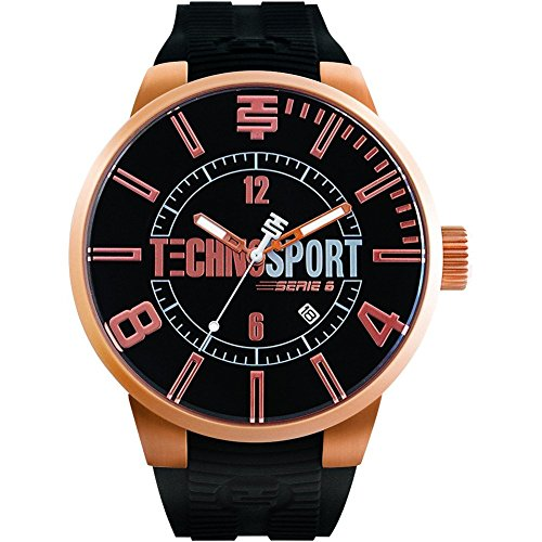 TechnoSport Damen Chrono Uhr rose gold