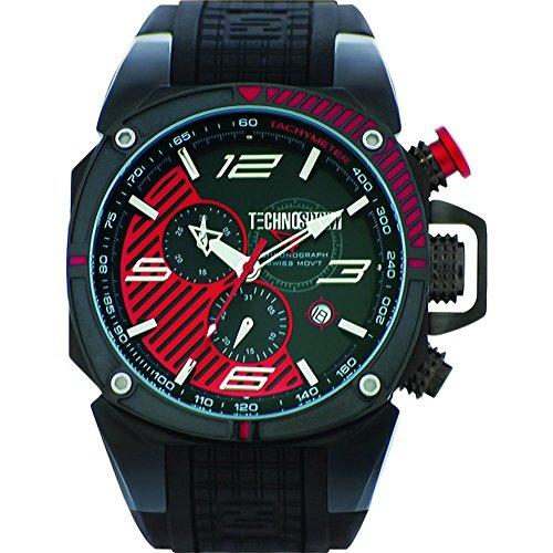 TechnoSport Herren Chrono Uhr FORMULA schwarz