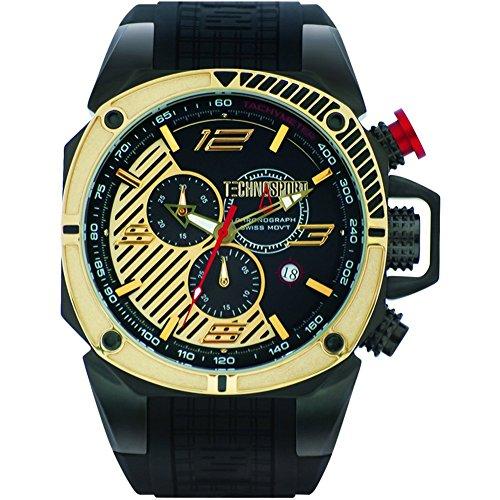 TechnoSport Herren Chrono Uhr FORMULA gold