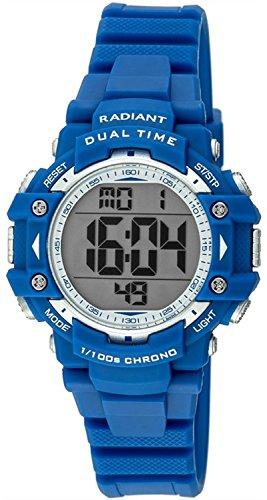 Radiant Clock Kind Gummi Blau RA397603