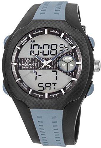 RADIANT Uhr Jordan RA339601 New Black Rubber Mann Quarz