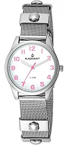 Radiant Uhr Silber Stahl RA386202 Maedchen Kommunion