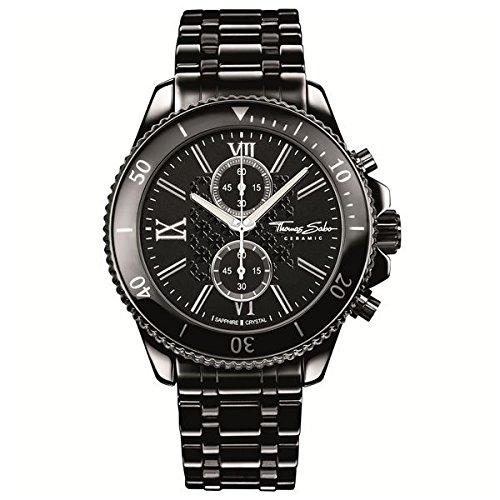 Thomas Sabo Herren Armbanduhr WA0163 220 203