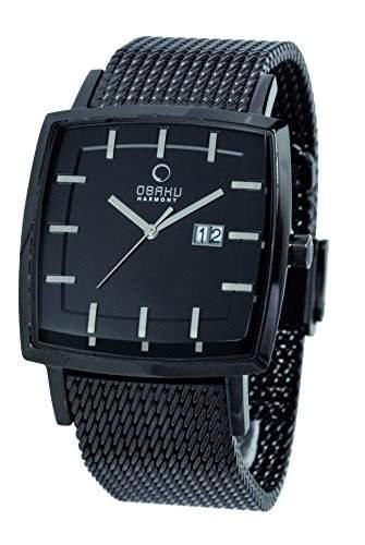 Obaku Harmony Herren-Armbanduhr V134G BBMB