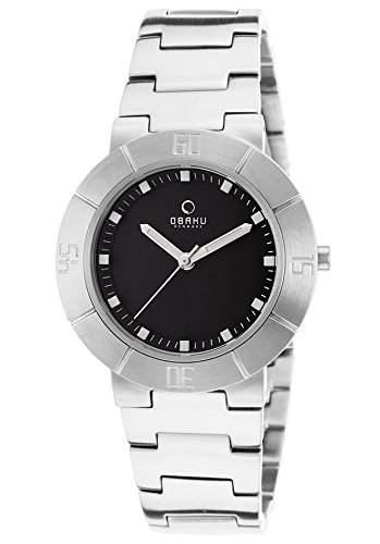 Obaku Harmony Damen-Armbanduhr XS Analog Edelstahl V140LCBSC