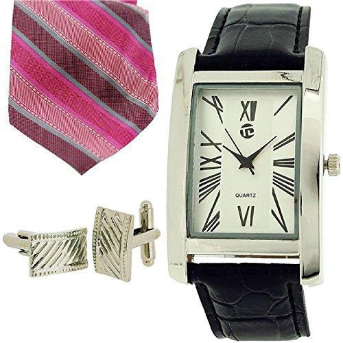 Time Design m roem Ziffern Krawatte Manschettenknoepfe TDX5486G38