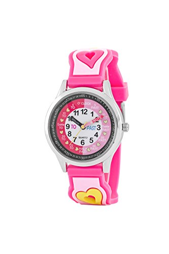 Time Design tdx5565 Schluesselanhaenger Kids Zeit Unterricht Armbanduhr
