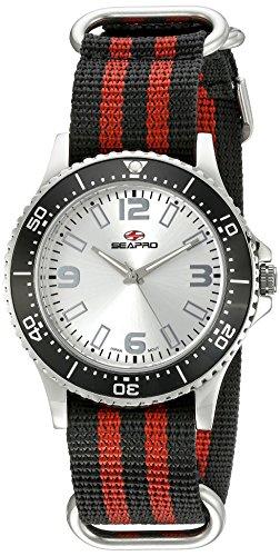Seapro Herren sp5310nr Analog Display Quarz Zweifarbige Armbanduhr