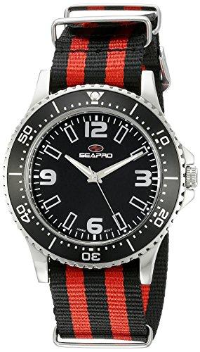 Seapro Herren sp5311nr Analog Display Quarz Zweifarbige Armbanduhr