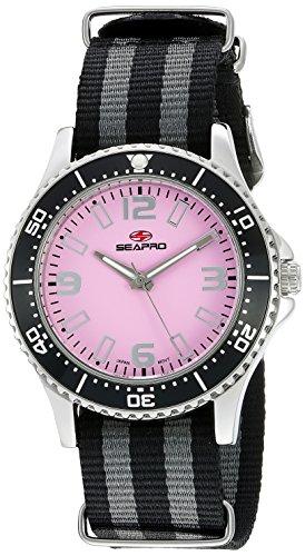 Seapro Damen sp5416nbk Analog Display Quarz Zweifarbige Armbanduhr
