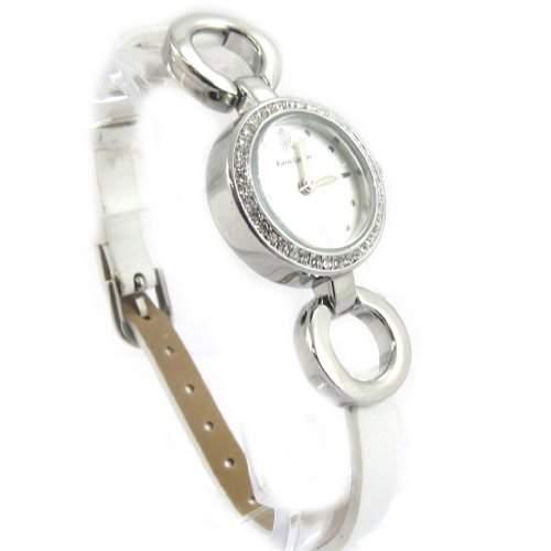 Armbanduhr fuer frauen Pierre Lannierweiss-silber