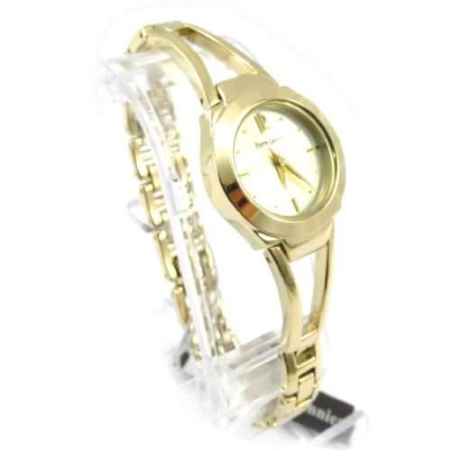 Armbanduhr fuer frauen Pierre Lannier goldfarben
