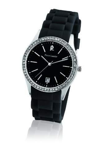 Pierre Lannier Damen-Armbanduhr Analog Quarz Silikon 025L639