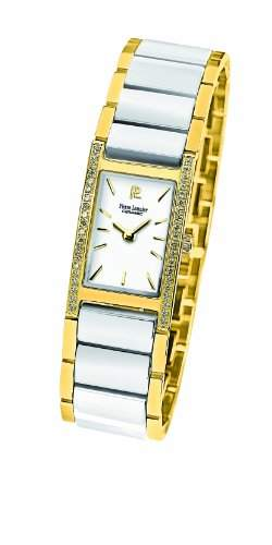 Pierre Lannier Damen-Armbanduhr Analog Quarz Keramik 053G500