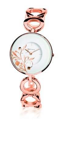 095L909 Pierre Lannier Damen-Armbanduhr Alyce Quarz analog Stahl goldfarben Ros
