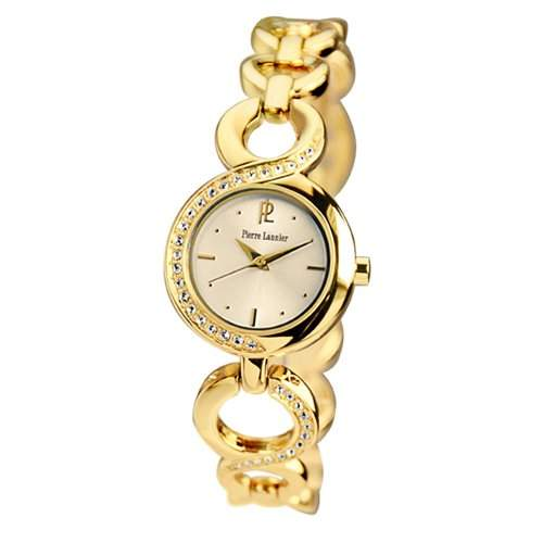 Pierre Lannier Damen-Armbanduhr Analog Quarz Gold 103F542