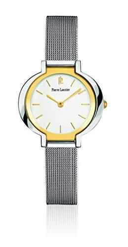 Pierre Lannier Damen-Armbanduhr Tendance Analog Quarz Edelstahl 140K648