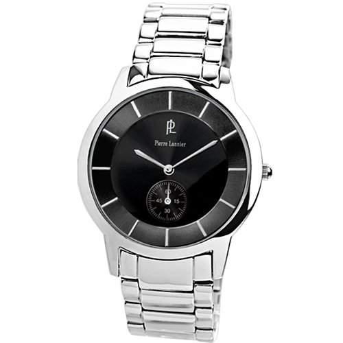 PIERRE LANNIER Herren-Armbanduhr Analog Edelstahl silber 207D131